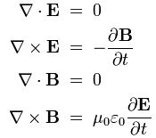 Heaviside form of Maxwell's equations