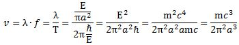 formula for v