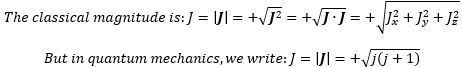 magnitude formula