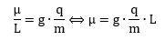g ratio formula